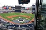 Yankee Stadium from the Pressbox